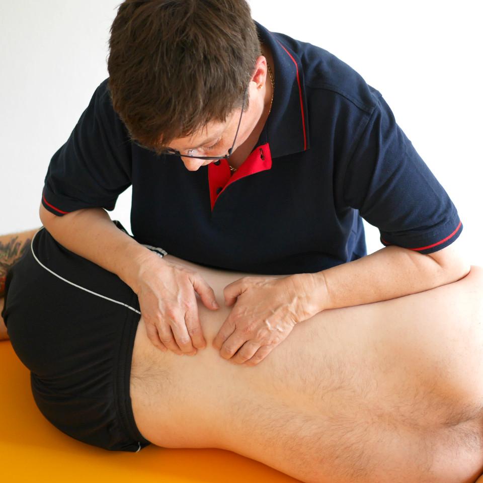 Bild zeigt Manuelle Therapie